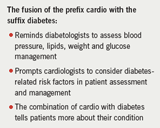 Table 1. Cardiodiabetes – what's in a name?