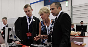 Simulator session at the 2010 Annual Conference