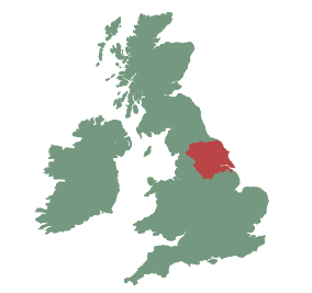 UK map - york