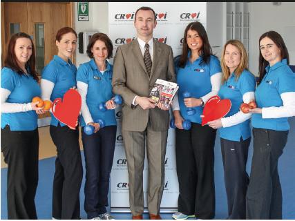 The Croí MyAction team