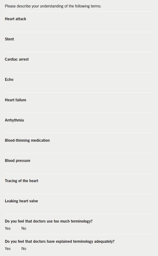 Appendix 1. Patient information sheet