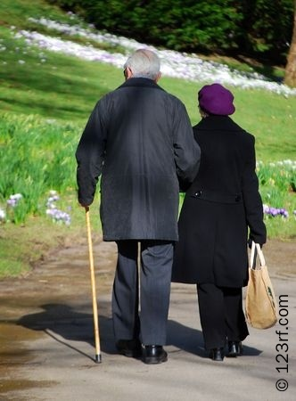 4761597-silver-haired-couple-enjoying-walk-in-park