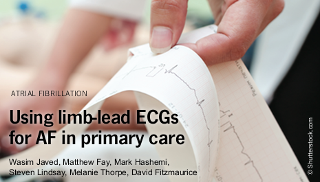 Using limb-lead ECGs to investigate asymptomatic atrial fibrillation in primary care