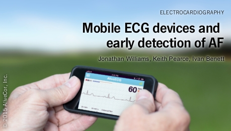 The effectiveness of a mobile ECG device in identifying AF: sensitivity, specificity and predictive value
