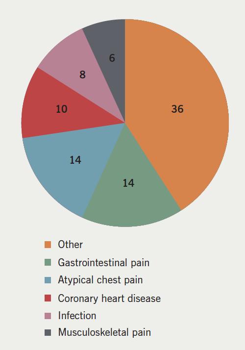 Figure 1. Final diagnosis in troponin positive patients