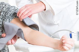 Blood pressure hypertension test