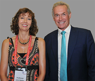 Professor Jane Ogden (left) with Dr Hilary Jones