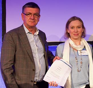 Mrs Nathalie Conrad Young Investigator Award Professor Iain Squire BSH 2017