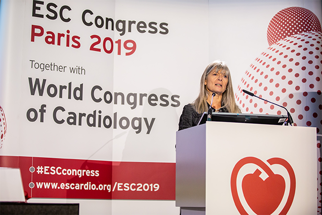 ESC 2019 - ESC President, Professor Barbara Casadei (British Heart Foundation Centre of Research Excellence, University of Oxford)
