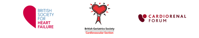 The British Society for Heart Failure, The British Geriatric Society Cardiovascular Section and the Cardiorenal Forum