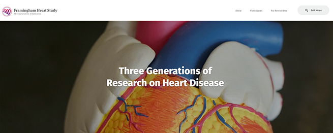 The Framingham Heart Study now spans three generations